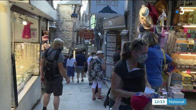 Manche : un Mont-Saint-Michel presque vidé de ses touristes