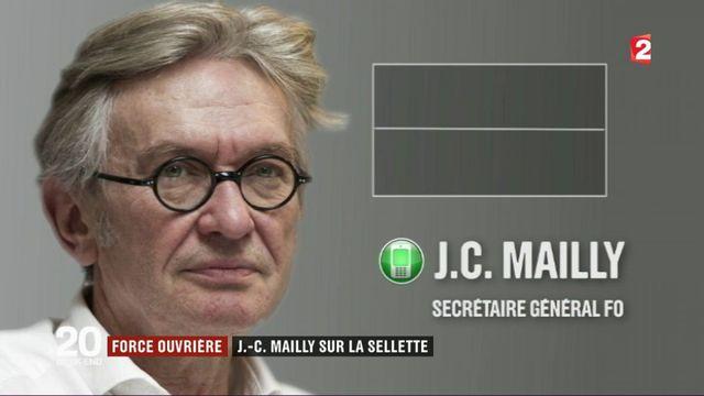 Force ouvrière : Jean-Claude Mailly sur la sellette