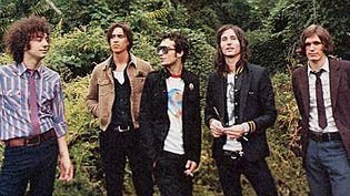 The Strokes en 2011 (de gauche à droite, Albert Hammond Jr, Julian Casablancas, Fab Moretti, Nick Valensi et Nikolaï Fraiture)  (RCA)