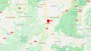 Valence, dans la Drôme. (GOOGLE MAPS)