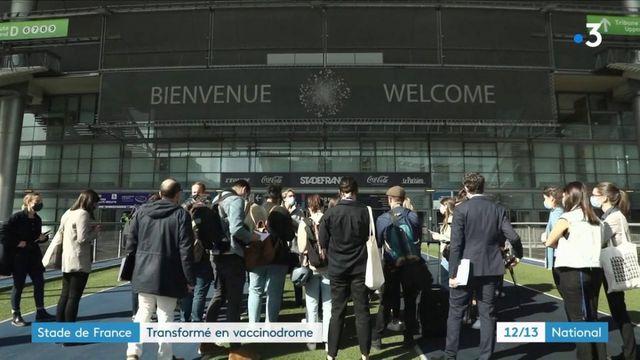 Covid-19 : le Stade de France se transforme en centre de vaccination géant
