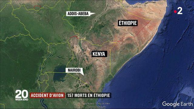 Éthiopie : 157 morts dans le crash d'un avion