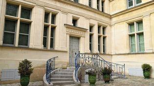 Façade dela maison natale de Jean de La Fontaine à Château-Thierry (Aisne). (RIEGER BERTRAND / HEMIS.FR / HEMIS.FR / AFP)