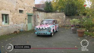 30 ans après la chute du mur de Berlin, des collectionneurs se passionnent encore pour la Trabant, la voiture en plastique de l'ex-Allemagne de l'Est devenue culte. (FRANCE 2)