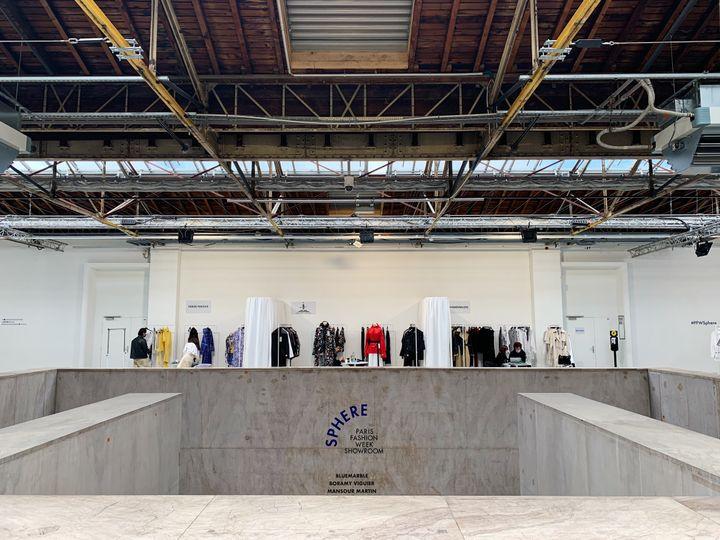Showroom Sphère, janvier 2020 à Paris (Sphère)
