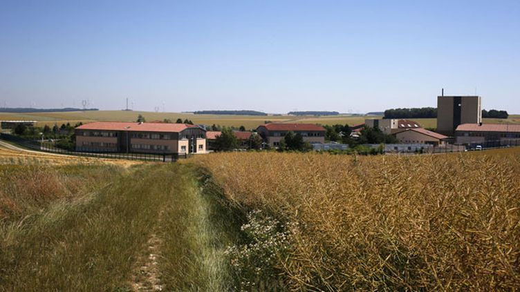 (Le futur centre d'enfouissement de déchets radioactifs est situé à Bure, dans la Meuse © Sipa)