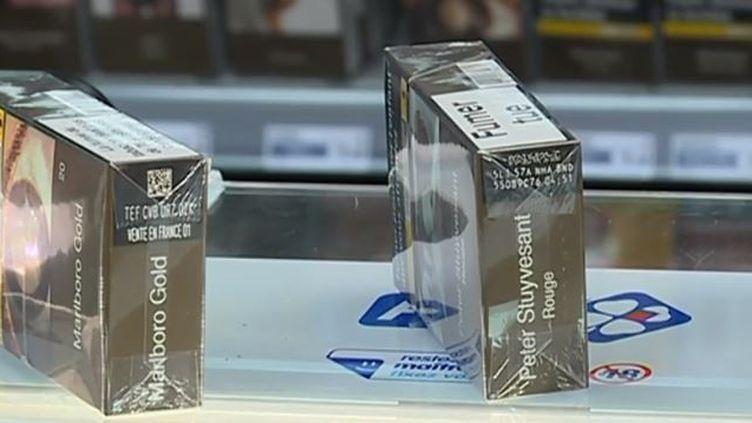 Les paquets de cigarettes sont désormais traçables dans toute l'Union européenne. (FRANCE 3)