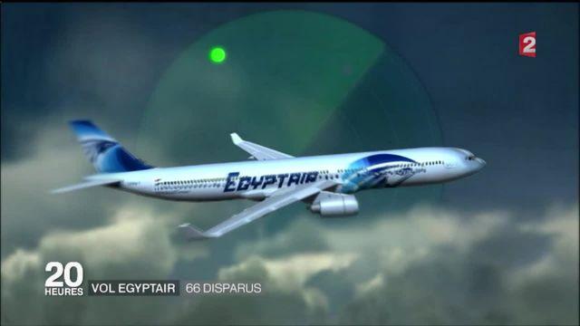 Disparition de l'Airbus A320 d'EgypAir . le film des événements