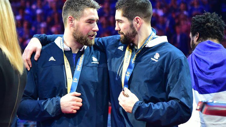 Les frères Karabitic, lors des Championnats du monde2016. (MAXPPP)