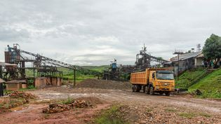 La Miba, société minière de diamants enRDC    (MARTHE BOSUANDOLE / AFP)