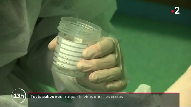 Covid-19 : la montée en puissance des tests salivaires dans les écoles