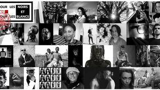 """""""Pour les noirs et pour les blancs"""" l'exposition qui dit des choses simples en image.  (Galerie Hierro)"""