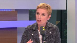 Clémentine Autain, le 13 avril 2017. (FRANCEINFO)