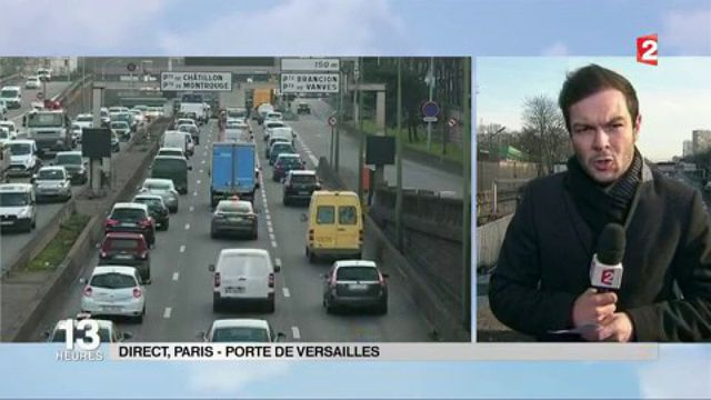Pollution : retour de la circulation alternée à Paris