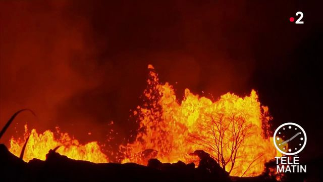 Hawaï : le volcan Kilauea continue de déverser sa lave
