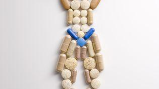 Un bodybuilder fabriqué avec des médicaments. (GETTY IMAGES)