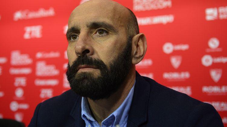 Le dirigeant espagnol Monchi (CRISTINA QUICLER / AFP)