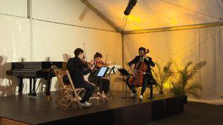 Le Quatuor Hanson lors de la 9e édition de Classic à Guéthary. (France 3 Aquitaine / C. Bonté-Baratciart)