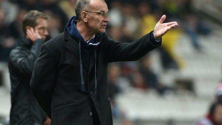 L'entraîneur de Brest Jean-Marc Furlan devra se contenter du point du match nul face à Tours (JEAN-SEBASTIEN EVRARD / AFP)