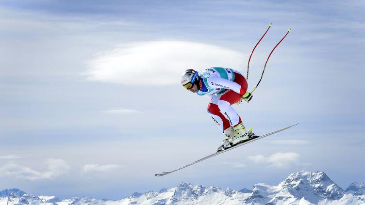 Le Suisse Beat Feuz  (FABRICE COFFRINI / AFP)