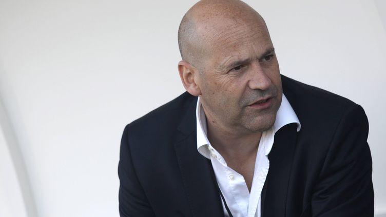 Michel Moulin est aussientrepreneur. Il est le fondateur du journal gratuit Paru Vendu ou encore du mensuel Le 10 Sport. (THOMAS BREGARDIS / MAXPPP)