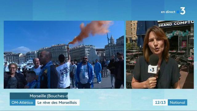 OM - Atlético : Marseille se prépare pour le grand événement