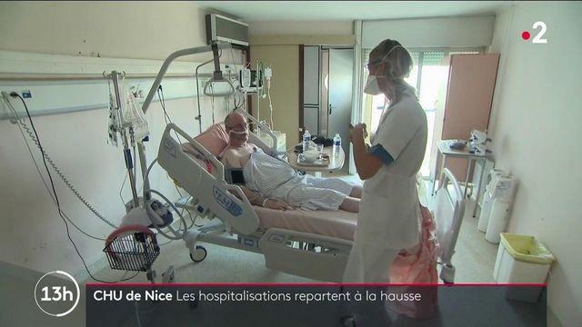 Variant Delta : les hôpitaux des Alpes-Maritimes face à la quatrième vague de Covid