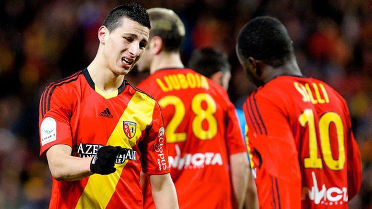 Le RC Lens n'est pas encore en Ligue 1 (JOHAN BEN AZZOUZ / MAXPPP)