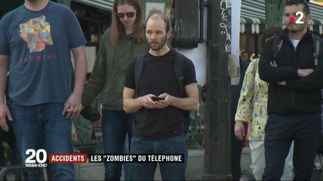 """Sécurité routière : les """"zombies"""" du téléphone"""