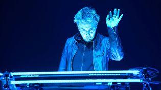 Jean-Michel Jarre, ici à Nantes en 2016, donne un concert en Israël jeudi 5 avril. (MAXPPP)