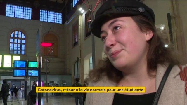 Coronavirus : fin de quarantaine pour une étudiante française de Wuhan