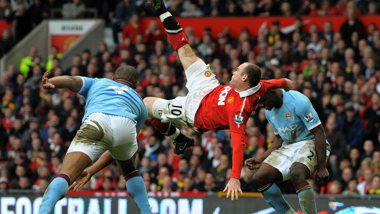 Sa reprise acrobatique contre Manchester City restera comme un des plus beaux buts de l'histoire. (ANDREW YATES / AFP)
