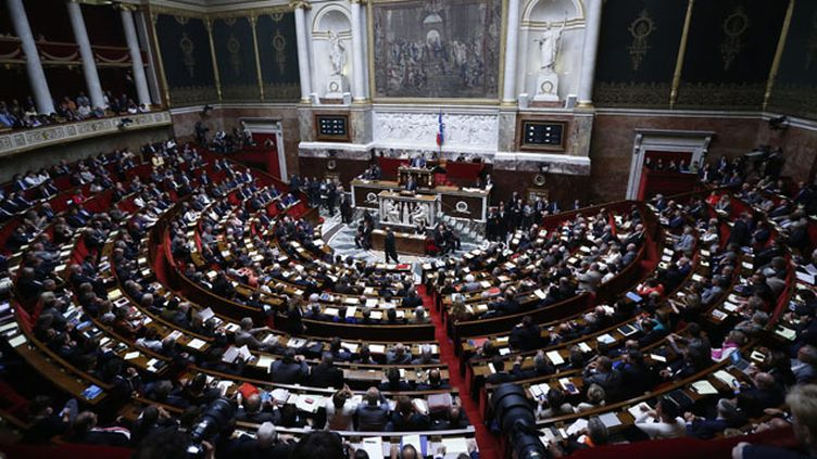 (L'Assemblée nationale mardi après-midi © Maxppp)