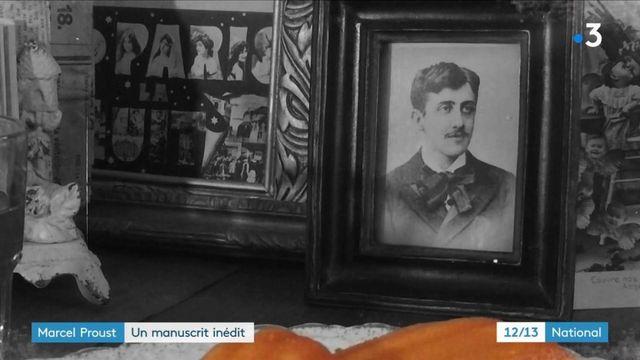 Marcel Proust : son manuscrit inédit enfin publié