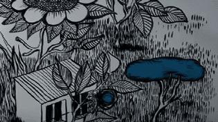 Esquisse de Carole Chaix pour un jardin (extra) ordinaire  (Carole Chaix)