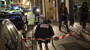Onze personnes ont été blessées à Dijon (Côte-d'Or), dont deux grièvement, dimanche 21 décembre. (ARNAUD FINISTRE / AFP)