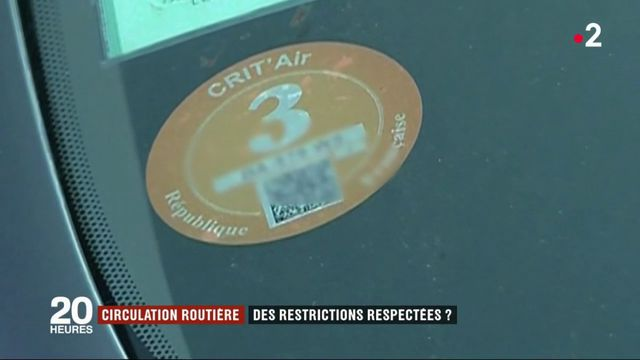 Circulation différenciée : des restrictions pas toujours respectées