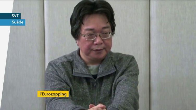 L'éditeur Gui Minhai condamné à dix ans de prison en Chine (FRANCEINFO)