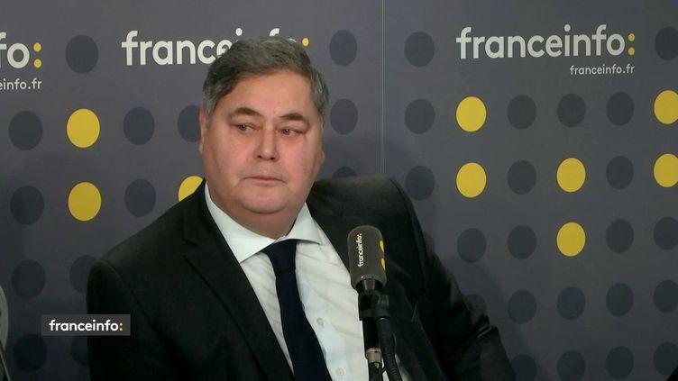 L'avocat Pierre-François Veil, l'un des fils de Simone Veil,le 12 février 2019. (RADIO FRANCE / FRANCEINFO)