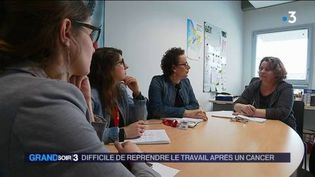 Maud Ramon a repris le travail après un cancer. (FRANCE 3)
