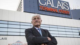 Jean-Marc Puissesseau, pdg de la société qui gère les ports de Boulogne et Calais (ARNAUD DUMONTIER / MAXPPP)