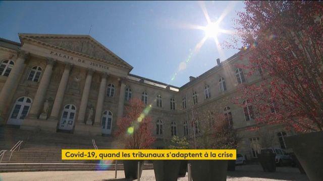 Coronavirus : le tribunal d'Amiens s'adapte à la crise