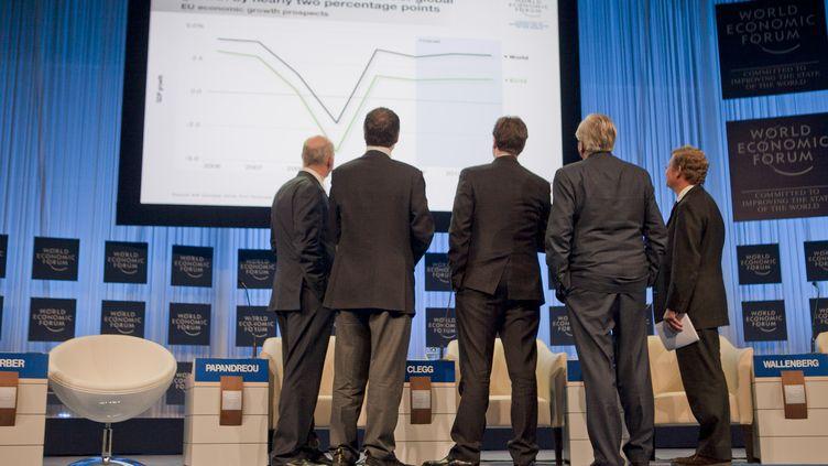 Lors du forum économique mondial de Davos (Suisse), en 2011. (BLOOMBERG / GETTY IMAGES NORTH AMERICA)