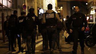 Une attaque au couteau a été perpétrée près de la place de l'Opéra à Paris, dans la soirée du 12 mai 2018. (THOMAS SAMSON / AFP)