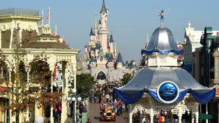 Disneyland Paris, le 16 mars 2017. (BERTRAND GUAY / AFP)
