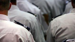 Des nouvelles recrues pour la police, le 13 septembre 2006. (MAXPPP)