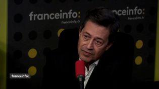 L'ancien député LR et ancien magistrat,Georges Fenech, était l'invité de franceinfo jeudi 26 avril. (FRANCEINFO)