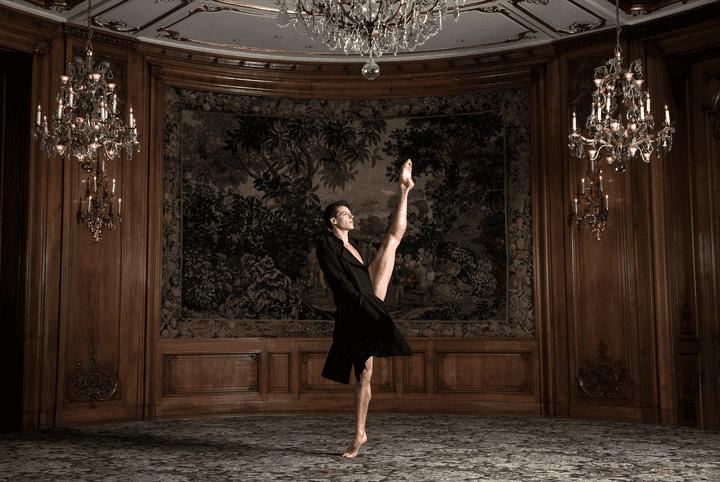 "Exposition ""Ballet Couture"" : Germain Louvet par Julien Benhamou  (Ballet Couture - Alfalibra Gallery)"