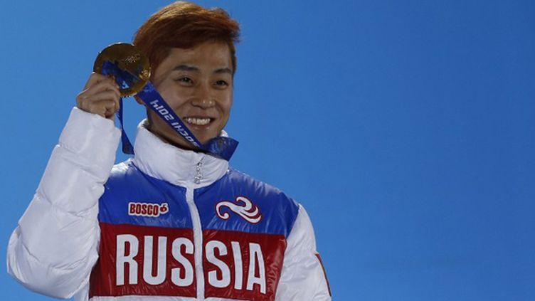 L'ex-coréen An devenu Victor Ahn  (ADRIAN DENNIS / AFP)