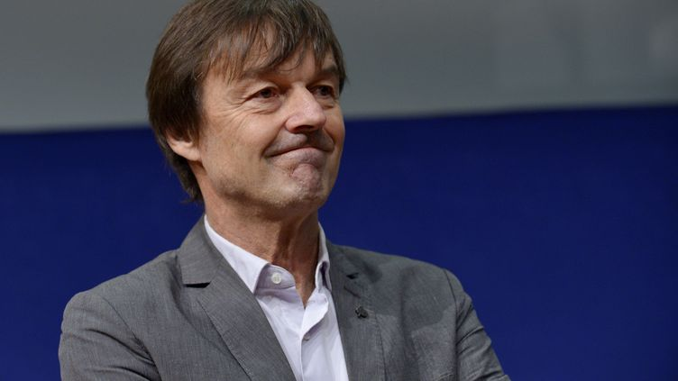 L'écologiste Nicolas Hulot, lors de l'ouverture de la Conférence annuelle des entrepreneurs, au ministère de l'Economie, à Paris, le 10 décembre 2015. (ERIC PIERMONT / AFP)